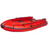 Фальшбортные лодки с многобаллонным дном под винтовой мотор